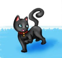 Kitty by heglys