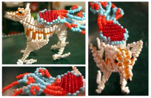 Beaded amaterasu by Niicchan