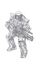 U exo soldier by TugoDoomER
