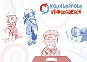 Kounterpole Kindergarten Sketches by Arkham-Insanity