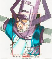 A - Galactus Trapped by KerrithJohnson
