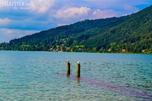 Tegernsee lake by MaithaNeyadi