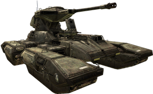 Halo3 M808B Scorpion MBT by ToraiinXamikaze