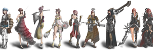 Lightning Returns Final Fantasy XIII - 9 sets by fllamjr
