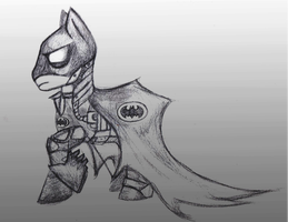 Caped Crusader by toxiccandymanson
