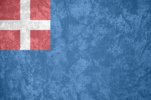 Kingdom of Sardinia ~ Grunge Flag (1720 - 1851) by Undevicesimus
