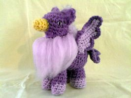 February Amethyst Gryphon by hollyann