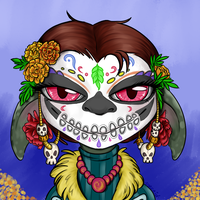 GW2: Day of the Dead Asura by syrcaid