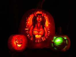Blizzard Jack-o-Lantern '08 by fusspot