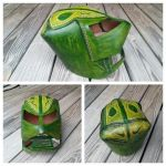 leather armor helm by naked2hobby