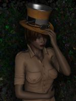 a hat for Valzheimer by RissingFlower
