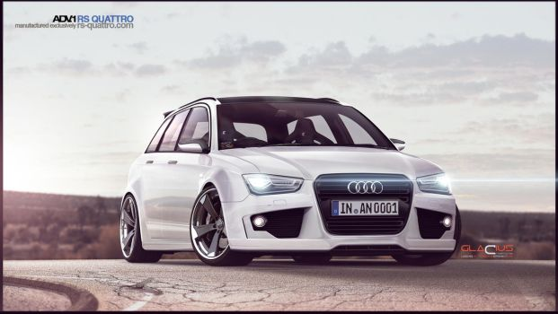 Audi RS4 Concept 2015 By Glacius by GlaciusCreations