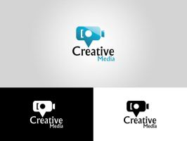 Creative Media Logo by HaithamYussef