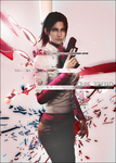 Claire Redfield Poster by Daphnecool
