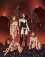 The Three Gorgeous Damned by faile35