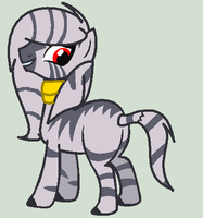 MLP Zebra Adoption CLOSED by Casey-the-unicorn