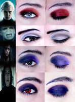 harrypotter.deatheaters.makeup by ynocencia