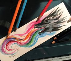 68- Dragon Bookmark by Lucky978