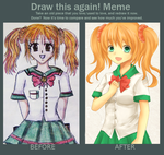 Before and After Meme by frozenblume