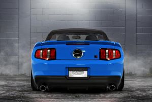Convertible Blue Roush 427 by lovelife81