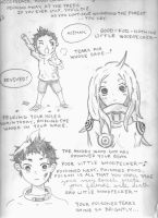 Shiro and Ganta by KyuuiSan