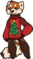 Ugly Sweater by mute-owl