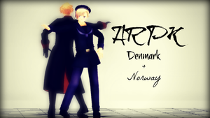 Norway and Denmark - ARPK ::VIDEO:: by EmD-Neko-Chan