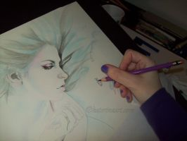 Work in Progress Mermaid by Katerina-Art