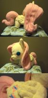 Chibi Fluttershy Plush 1st attempt by Ruaniamh