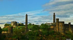 A Piece Of Edinburgh by Estruda