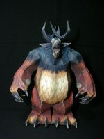 WoW Owl Beast Moonkin by fezco