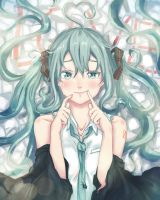 Hatsune Miku - How to Smile by soompook2122