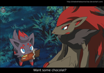 CE: Want some chocolat? by shadowhatesomochao