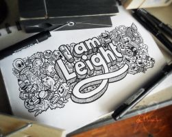 Doodle: I AM LEIGHT by LeiMelendres