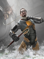 Half Life 2 - Trouble Underground Wallpaper by GT4tube