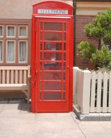 Telephone Booth by Peace-of-Art