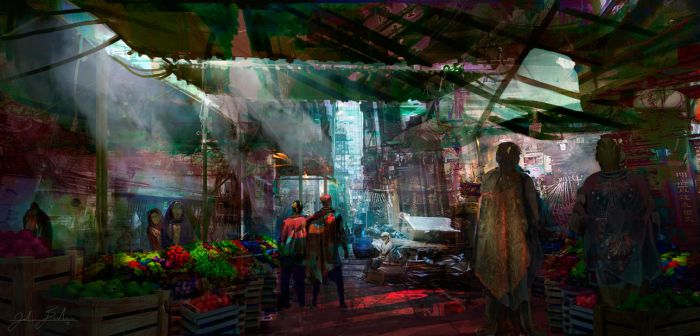 The Market by mastrman
