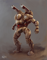 Combat robot 2 by VALVe-man