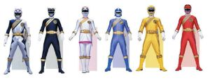 Wild Force Power Rangers by planeteer1988