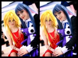 Panty and Stocking: Fallen Angels by felixize