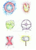The Avengers by Rika-chanpower