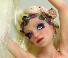 Rapunzel Rebelling by MaryRopelatoArtDolls