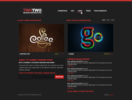 TwoTwo web design by jackinnes