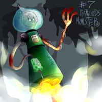 Flatwoods Monster by eternalsaturn
