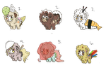 Food Themed Bloobie Adopts (WINNERS ANNOUNCED) by FriendIsHere