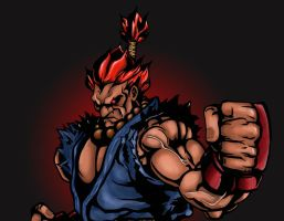 Akuma (rough color...not finished) by AnthonysCustoms
