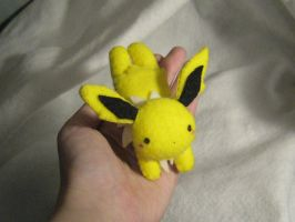 Poke Plushie - Jolteon v2 by Sexual-Pancake