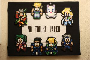 No Toilet Paper Perler by Neo-Shadow-Bat