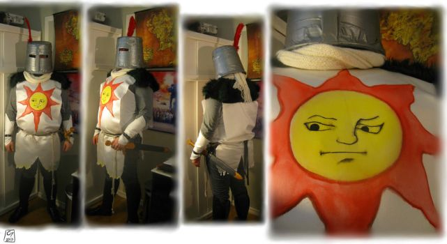Knight Solaire of Astora cosplay by Tamashi-Bjorn