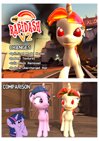 Rapidash Reskin Redux by Noble-Atomic